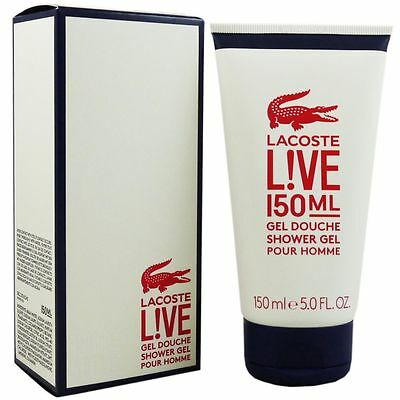 Lacoste Live Pour Homme 150 ml Shower Gel Showergel Duschgel