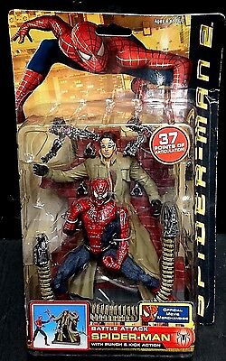 Marvel (Legends) Spider-Man 2 Movie BATTLE ATTACK SPIDER-MAN vs DOC OCK New!