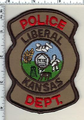 Liberal Police (Kansas) Shoulder Patch - new from 1992