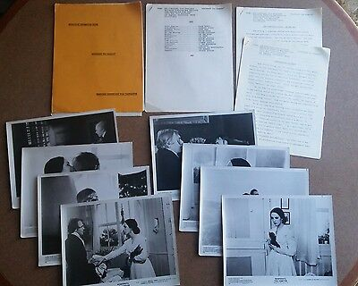 Nosferatu the Vampire 1979 Vtg Movie Production Sheets, Lobby Cards and More!