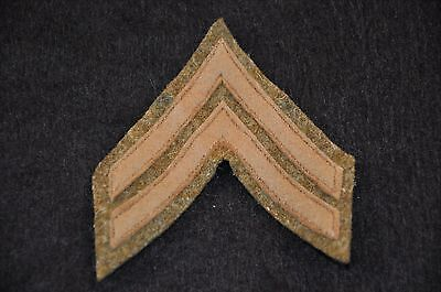 WWI US Army Enlisted Rank Insignia Patch Corporal Great & Unissued from bundle