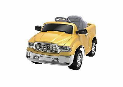 12 v remote control kids rid on yellow truck electric battery powered mp3