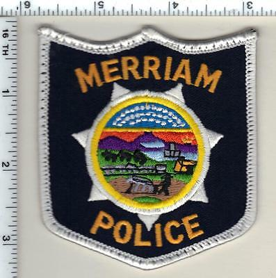Merriam Police (Kansas) uniform take-off patch from 1990