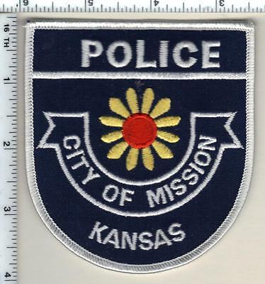 City of Mission Police (Kansas) Shoulder Patch - new from 1997