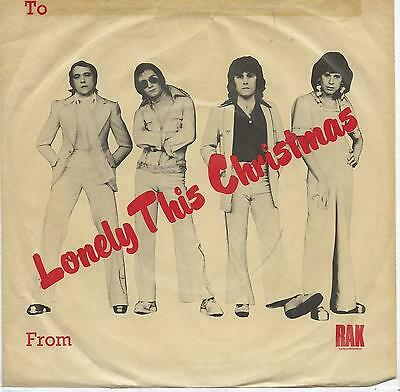 "Mud - Lonely This Christmas - 7"" Single"