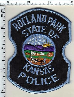 Roeland Park Police (Kansas) Shoulder Patch - new from 1997