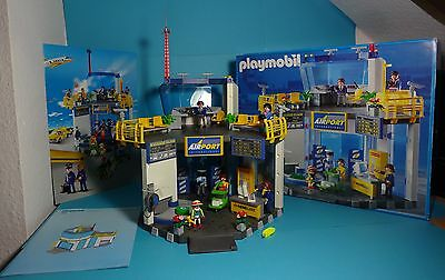 Playmobil Airport ~ Flughafen /Boarding Gate With Tower(3886)mit OVP & Anleitung
