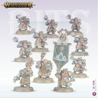 Bits Dispossessed Hammerers Longbeards Dwarfs Warhammer Aos