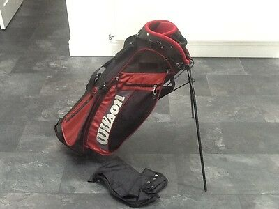 Wilson Dual Srap with Stand Golf Lightweight Carry Bag
