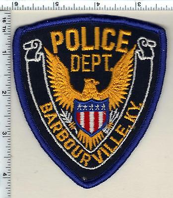 Barbourville Police (Kentucky) Shoulder Patch - new from the 1980's