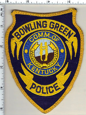 Bowling Green Police (Kentucky) uniform take-off patch from 1995