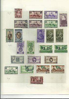 Egypt Early Lot On Page [Ref 9]