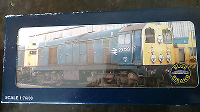 BACHMANN 'OO' GAUGE 32-025 BR BLUE CLASS 20  DIESEL LOCO WITH DISCS Free Postage