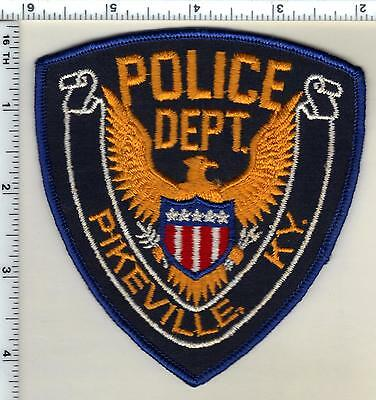 Pikeville Police (Kentucky)  Shoulder Patch - new from the 1980's