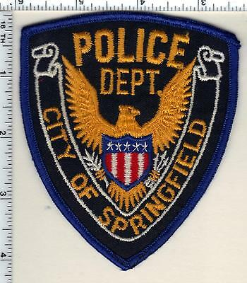 City of Springfield Police (Kentucky)  Shoulder Patch - new from 1985