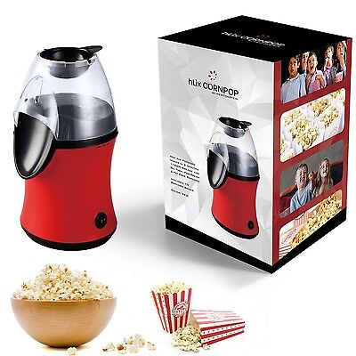 hLix CORNPOP - Hot Air Popcorn Maker in 3 minutes 1100W Grease and Oil Free, For