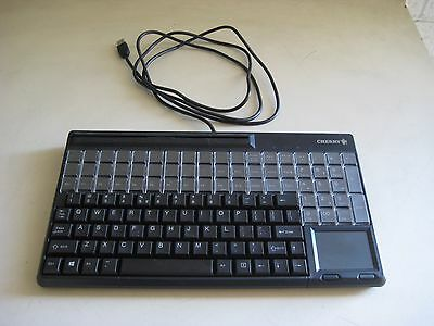 Cherry Spos G86-61411Euadaa Compact Keyboard With Usb Interface And Touchpad #b6