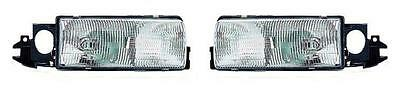 91 92 Oldsmobile Custom Cruiser Stationwagon Headlight Pair Set Both NEW