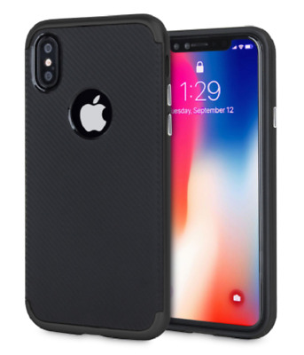COVER CUSTODIA ORIGINALE FEEL CARBON Hybrid Armor per Apple iPhone 6 6s 7 Plus