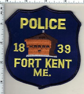 Fort Kent Police (Maine) Shoulder Patch - new from 1989