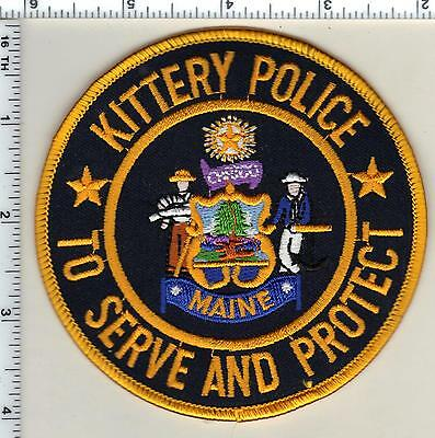 Kittery Police (Maine) Shoulder Patch - new from 1994