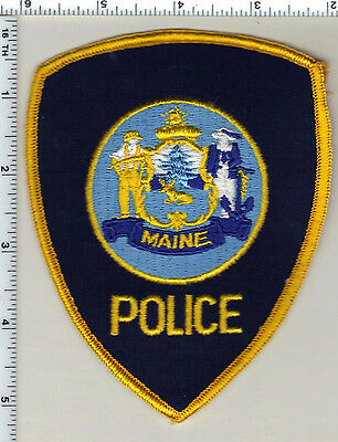 """Generic"" Police (Maine) Shoulder Patch - new from 1992"