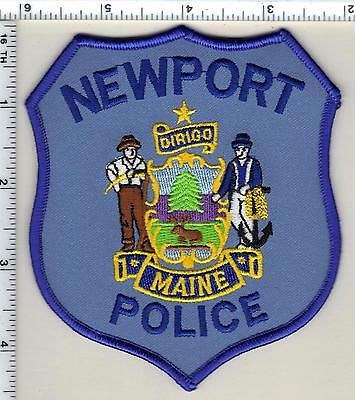 Newport Police (Maine) Shoulder Patch - new from 1992