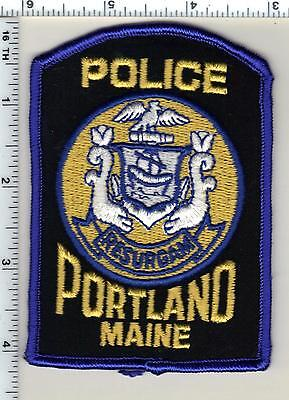 Portland Police (Maine) Shoulder Patch - new from 1992