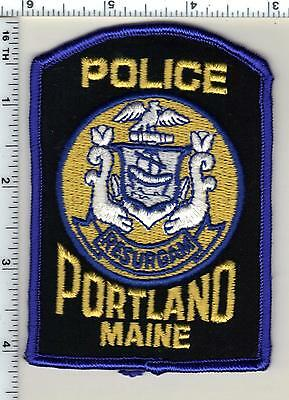 Portland Police (Maine) Shoulder Patch - new from 1989