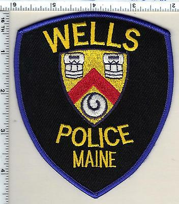 Wells Police (Maine) Shoulder Patch - new from 1994