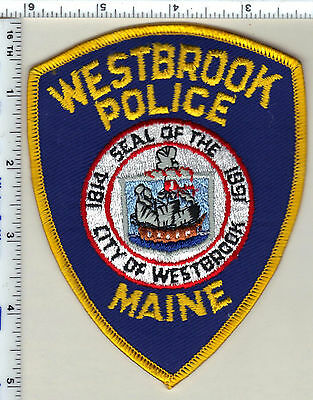 Westbrook Police (Maine) Shoulder Patch - new from 1992