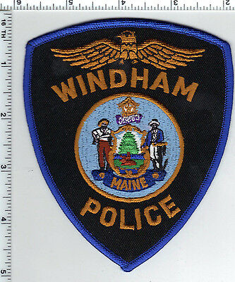 Windham Police (Maine) Shoulder Patch - new from the 1990's