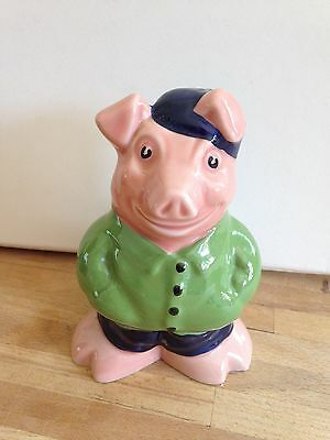 NatWest Wade Cousin Wesley Pig ORIGINAL STOPPER Piggy Money Bank Box Natwest