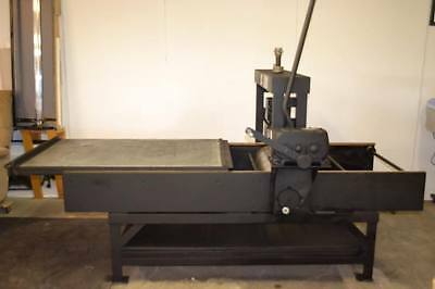 Charles Brand Lithography Press