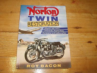 Norton Twin Restoration - a Book by Roy Bacon