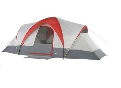 Dome Tent 9 Person Weatherbuster Family Outdoor Camping Shelter Full Mesh Top