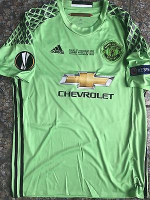 Maillot Finale Europa Cup Romero Manchester United