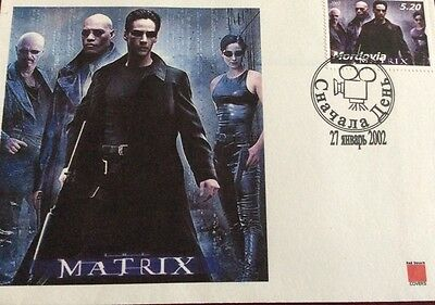 Moldova 2002. Matrix  First Day Cover