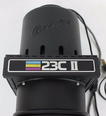 Beseler 23C II XL Color Photo Darkroom Enlarger Head w/ Lens 50mm