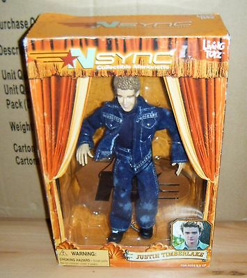 Justin Timberlake Nsync Doll Marionette Puppet Living Doll New Music