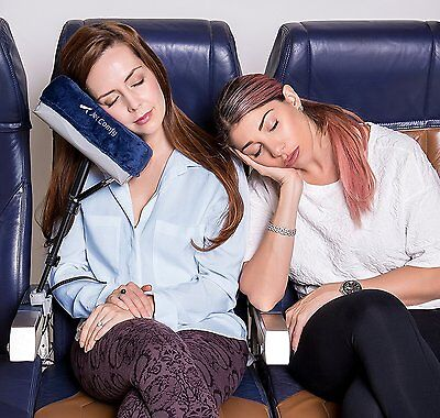 JetComfy Memory Foam Travel Pillow  Adjustable, Compact & Lightweight