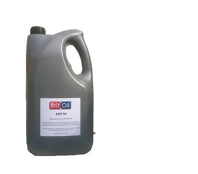 Mtf 94 Manual Transmission Gearbox Oil For Rover, Landrover, Mini, Litre 5 Ltr