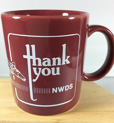 NWDS F-4 Fighter Jet Coffee Mug Cup