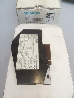 Siemens 3UA52 00-1J  thermal overload breaker 1