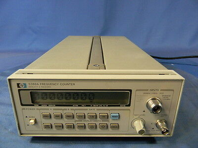 Agilent HP 5386A Frequency Counter W/Option 004 30 Day Warranty