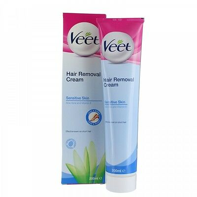 Veet Hair Removal Cream 200ml for Sensitive Skin