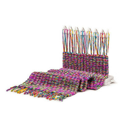 Loom Weaving Kit Weave Anything Home Small Simple Large Portable White
