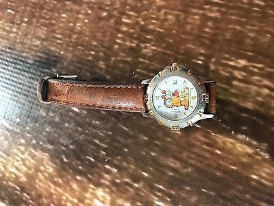 Vintage Armitron Garfield And Odie Watch Womens Guc See Pics
