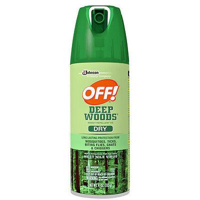 Johnson OFF! Deep Woods Dry Aerosol Spray 4 oz