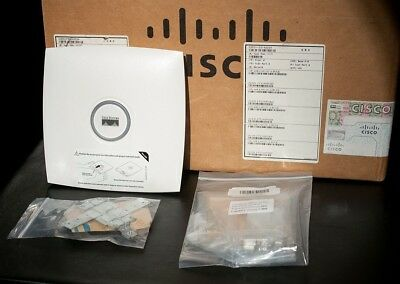 New LOT of 6x Cisco AIR-LAP1131AG-A-K9 Aironet Wireless Access Point w/ Brackets